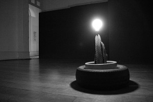 Sertão Sul (estudo para monumento), de Gustavo Torrezan, 2015. A instalação fez parte da exposição Aparições, no MIS-Campinas, em maio de 2015. Veja esta notícia também no link: http://climacom.mudancasclimaticas.net.br/?p=1900