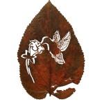 COLIBRÍ (23x15 cm. Species: Morus Alba)