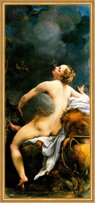 Correggio, Júpiter e Ío
