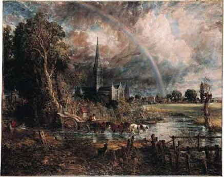Constable, La catedral de Salisbury…