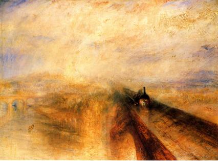 Turner, Lluvia, vapor y velocidad