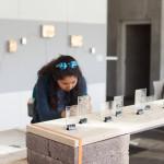 view of exhibition (materials 2) (photo by Dani Landau)