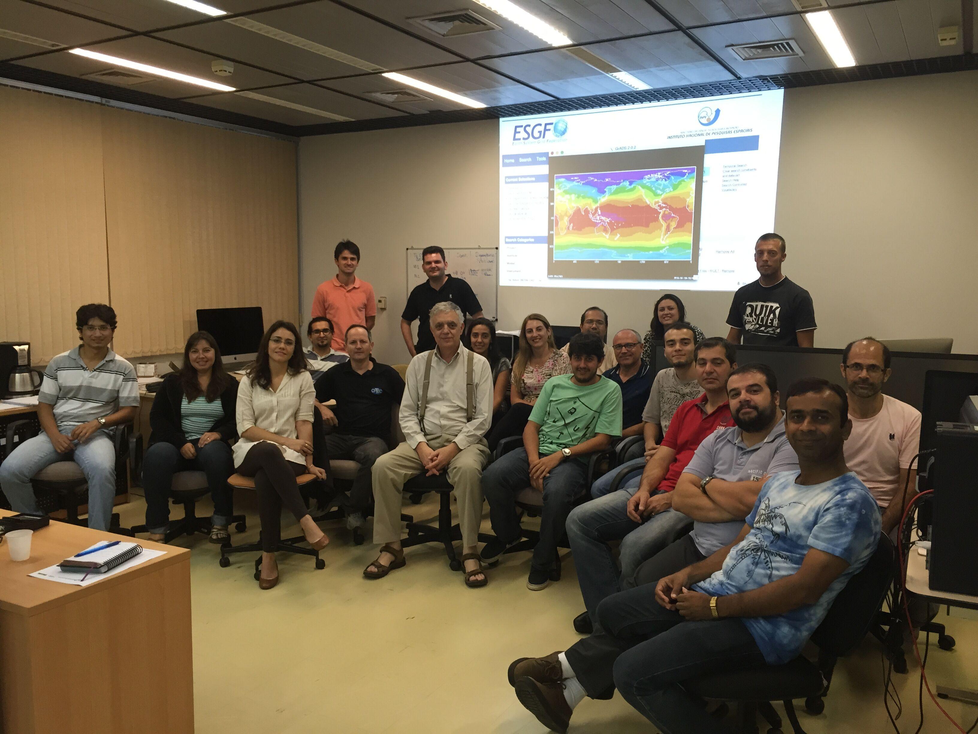 Paulo Nobre equipe Cientistas Besm