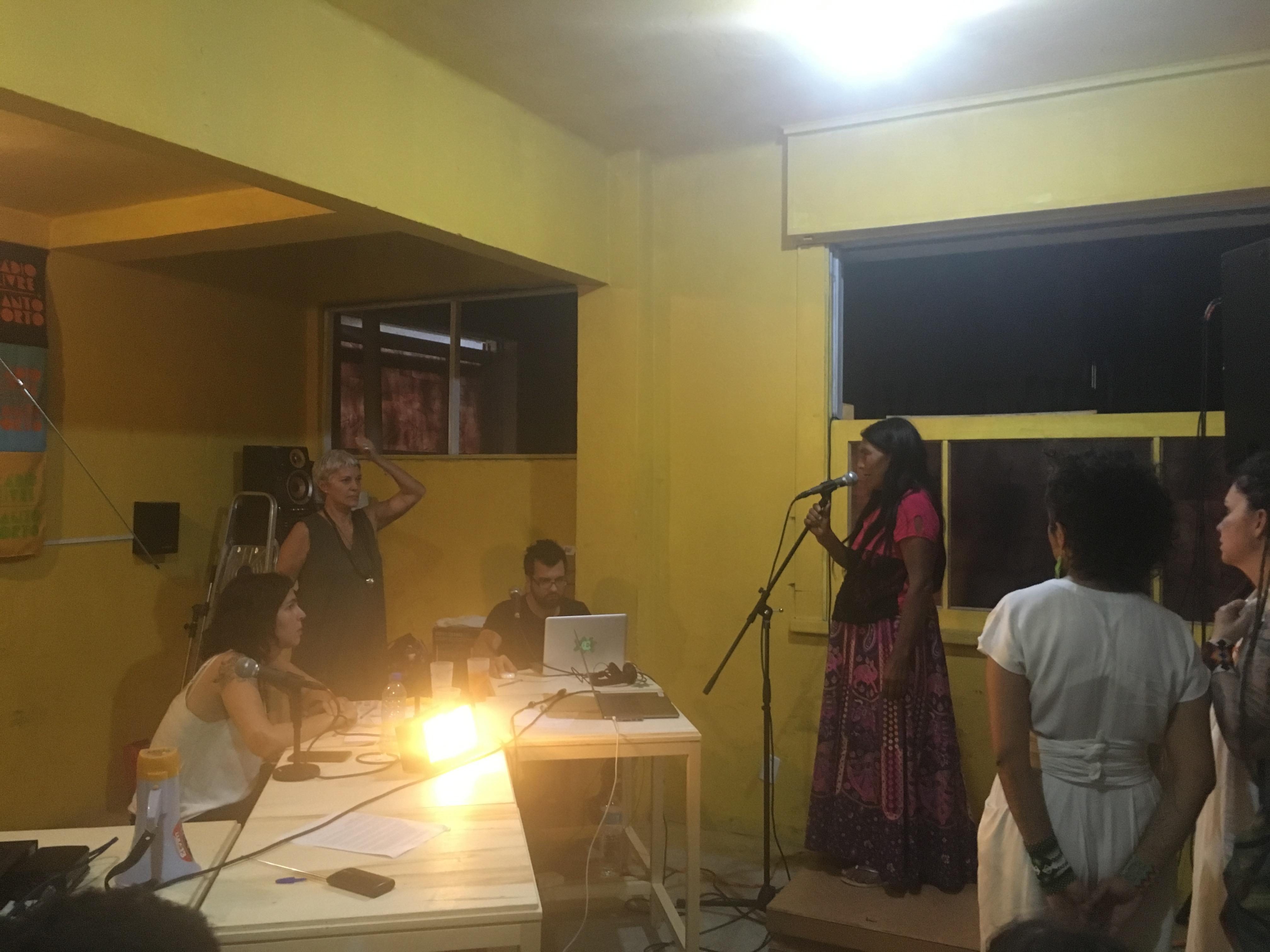 Radio Livre Canto Torto - O que não é floresta é prisão política - foto 02